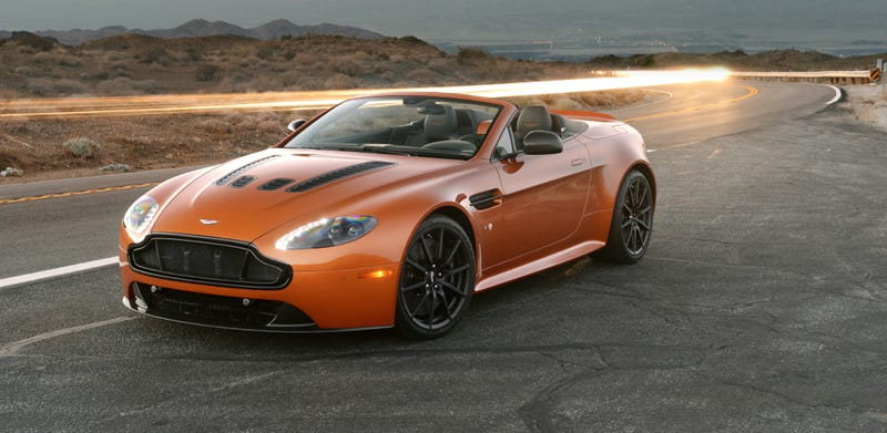 Are Open Top Cars Less Worthy Of Factory Performance Tuning Than Coupes?  These Are Questions That Haunt The Aston Martin ...