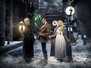 Illustration for article titled The Most Wondrous Doctor Who Christmas Special Yet