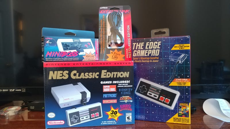 Back in The TAY: NES Classic Accessories