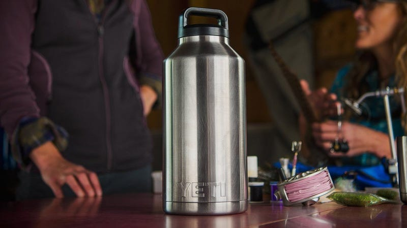 YETI YRAMB64 Rambler 64oz Stainless Steel Bottle | $33 | Woot