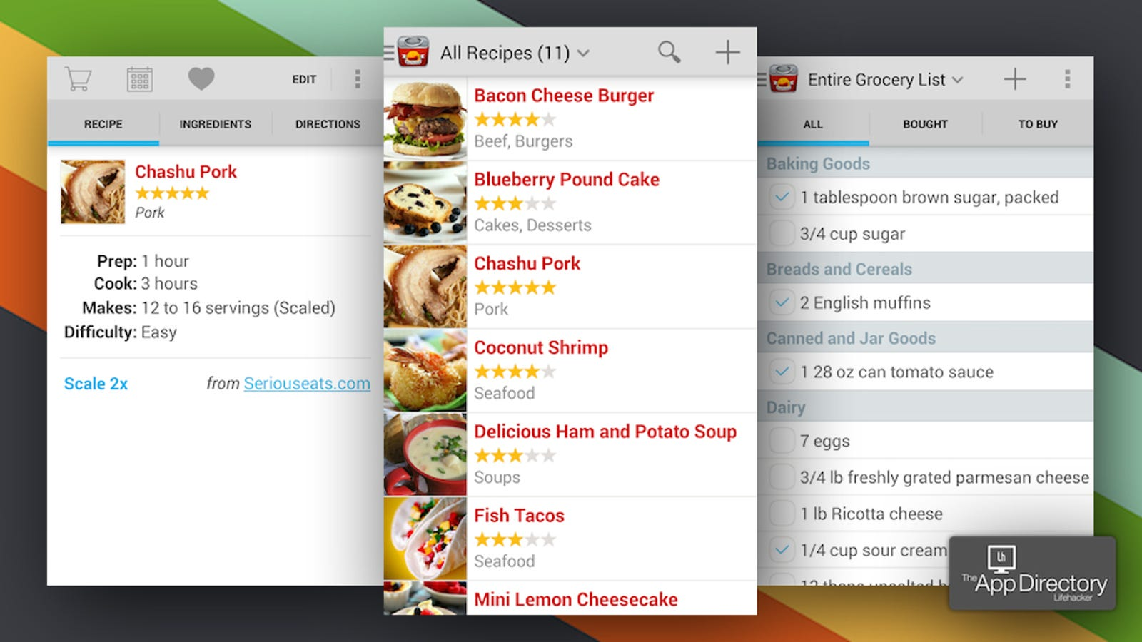 The Best Recipe Manager for Android
