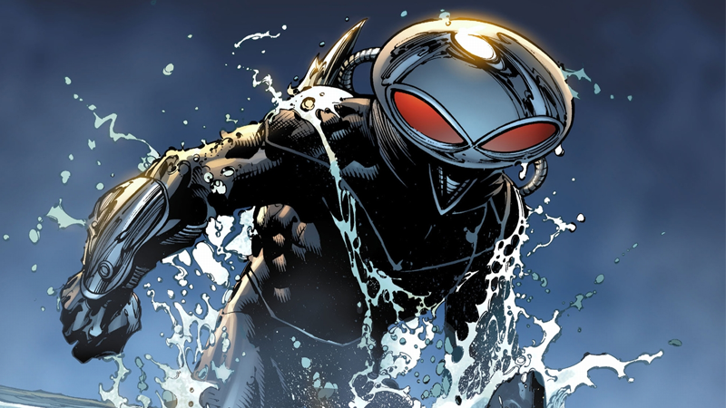 Illustration for article titled Black Manta Will Be the Villain in the Aquaman Movie, Because of Course He Will