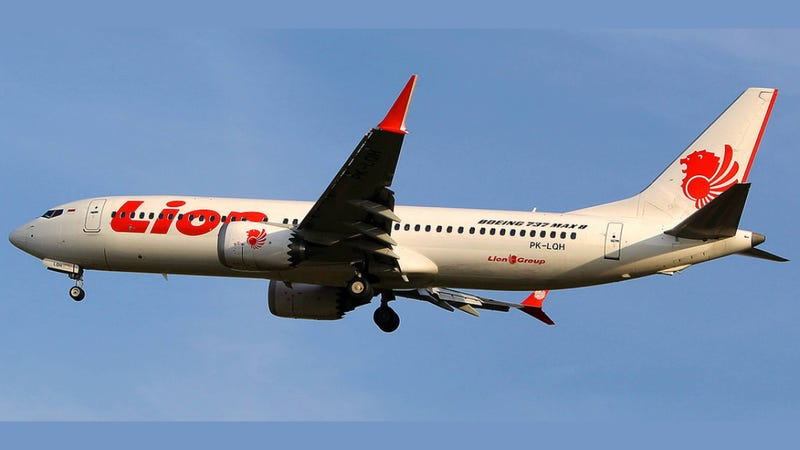 Illustration for article titled Lion Air 737 MAX 8 Crash: 100 Pounds of Yoke Force, 21 Times