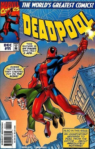 Illustration for article titled Marvel's craziest mutant, Deadpool, finally gets a director