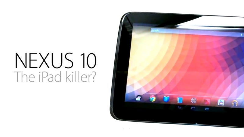 Illustration for article titled Nexus 10 Tablet: Everything You Need to Know