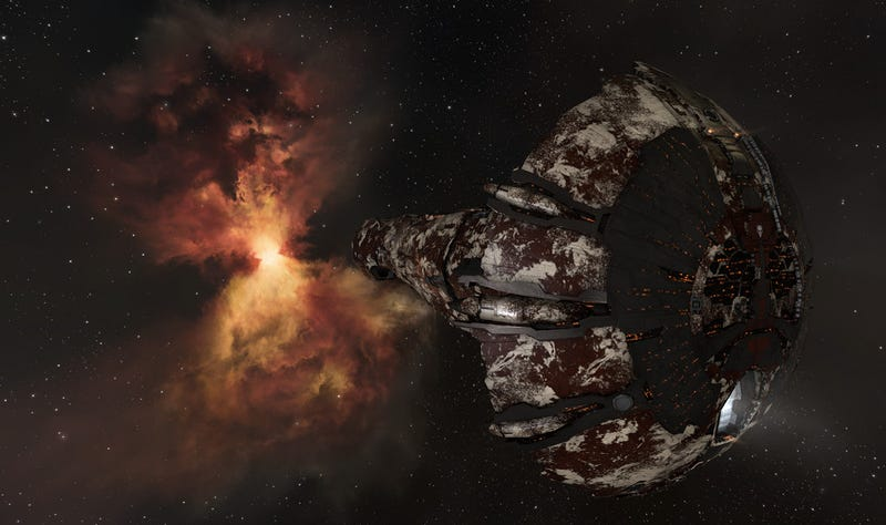 EVE Online's New Pirate Ship Can Hold 100,000 Human Corpses