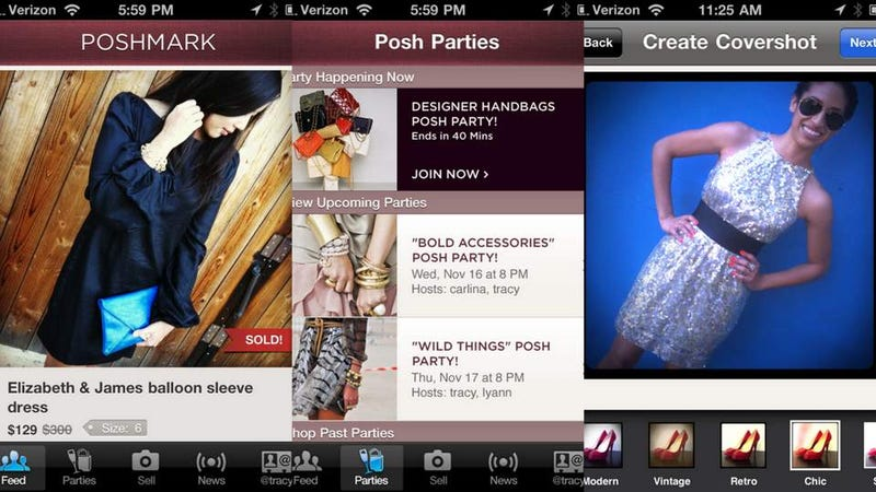 Illustration for article titled Skirt the Fashion Hoi Polloi With Poshmark Mobile Auction App