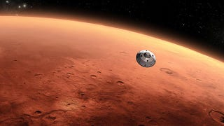 Illustration for article titled Contact with Curiosity may be lost during its descent to the Martian surface