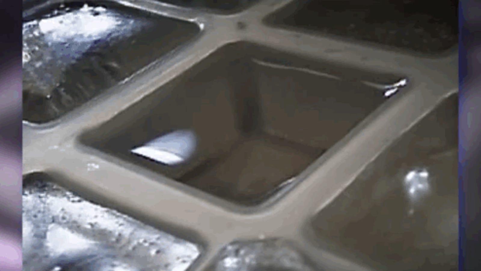 Cómo crear agua ultracongelada fácilmente desde casa