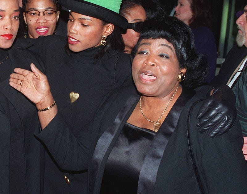 Dr. Betty Shabazz (AFP/Getty Images)