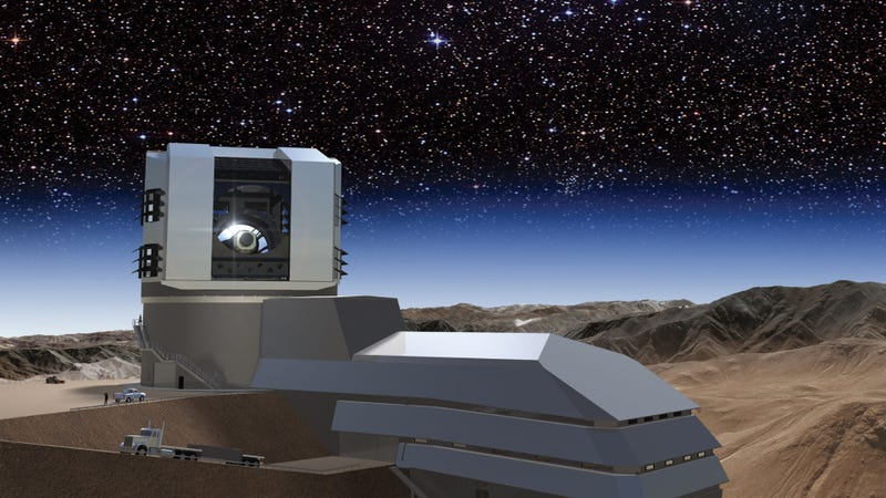 Illustration for article titled The World's Largest Digital Camera Will Shoot the Stars 3.2 Gigapixels at a Time