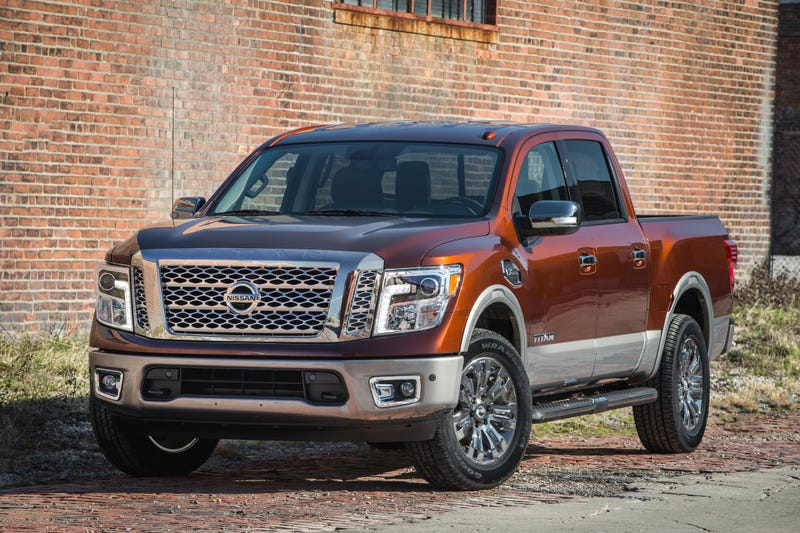 Illustration for article titled The 2017 Nissan Titan Crew Cab Is The Baby Titan With A Big V8