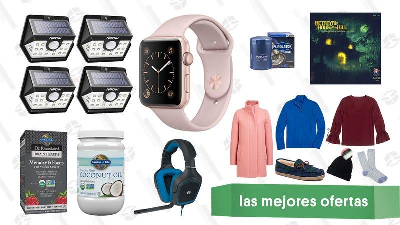 Illustration for article titled Las mejores ofertas de este viernes: Apple Watch, cargadores USB-C, filtros Purolator y más