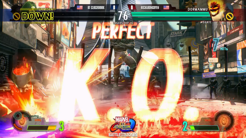 Illustration for article titled Marvel Vs. Capcom Pro Shows What A Perfect Round In Infinite Looks Like