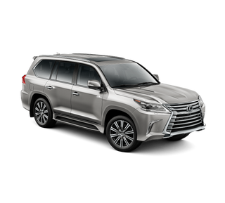 Illustration for article titled The Lexus LX570 looks good