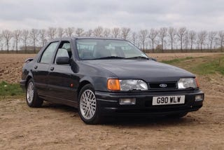 Illustration for article titled Why Buy Gawker Media When You Can Buy This Ford Sierra Sapphire RS Cosworth Once Owned By Jeremy Clarkson For Much Much Less?