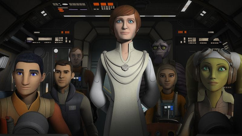 Illustration for article titled An exciting Star Wars Rebels ends in surprising, uplifting fashion