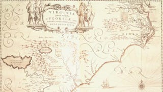 Map of Southeast North America, 1638Thinkstock