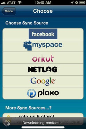 Illustration for article titled AllSync Syncs Your Contacts from Various Sources to Your iPhone