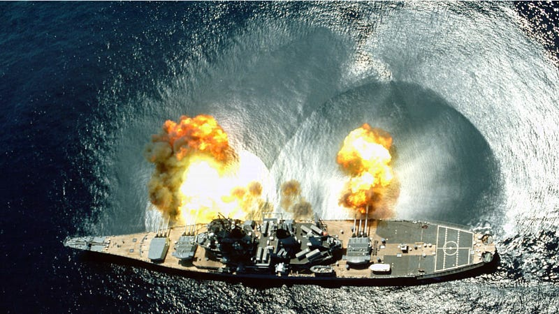 Illustration for article titled What the Navy Shoots for Target Practice