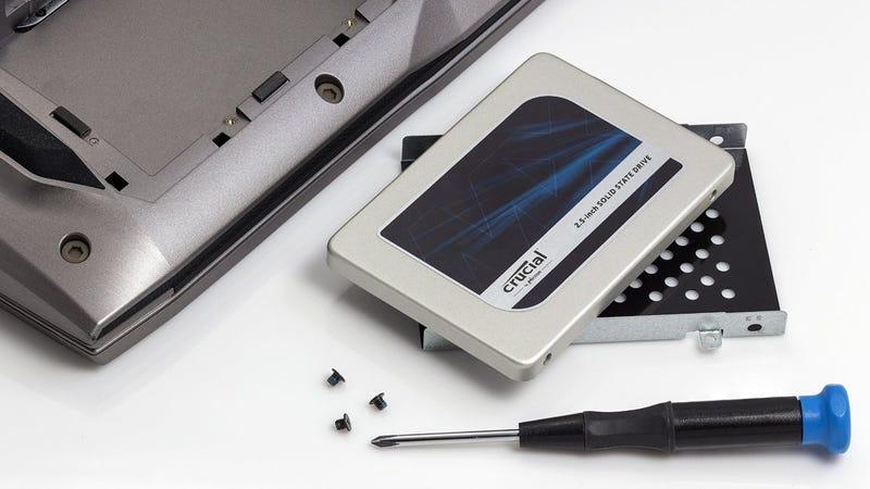 Crucial MX300 275GB SSD, $60 | 525GB, $105