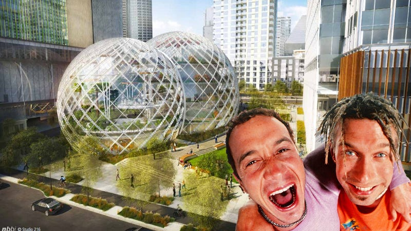 Amazon Is Planning a Massive Biodome HQ So No One Ever Has to Leave