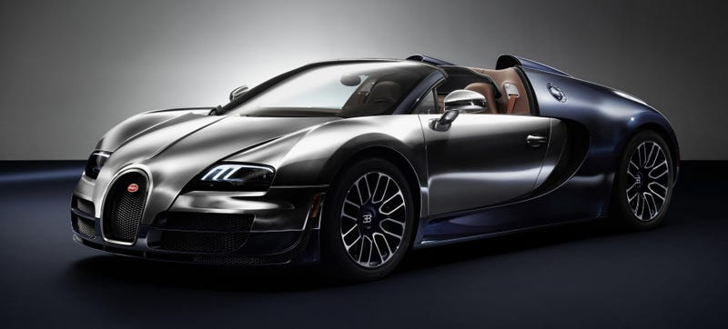 Illustration for article titled The Final 'Legends' Bugatti Veyron Is Simply Stunning