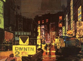 Illustration for article titled The Jazz Album Cover That Became Blade Runner