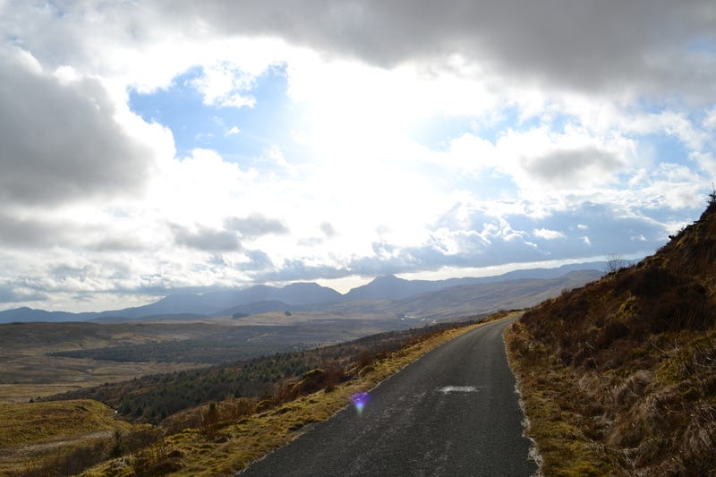 On the road to Trawsfynyd.
