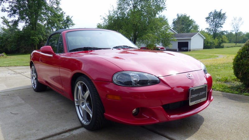 At $13,000, Could This 'Mint' 2005 Mazdaspeed Miata be Worth
