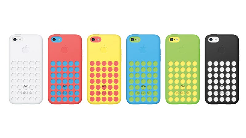 Illustration for article titled Apple's iPhone 5C Case Looks Like a Cheese Grater Made for a Toddler