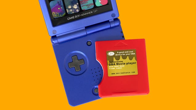 I Miss Watching Horribly Compressed Movies on My Game Boy