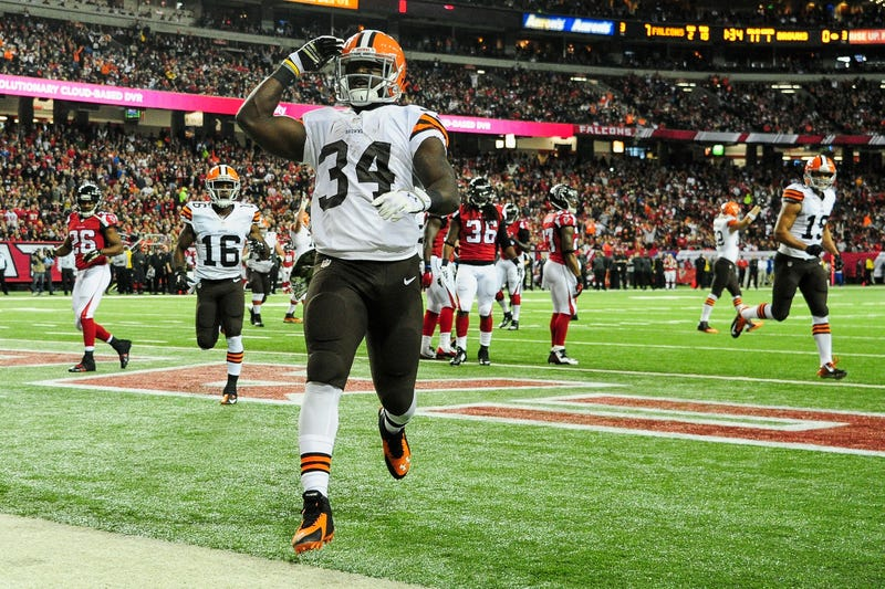 Isaiah Crowell of the Cleveland Browns during a game Nov. 23, 2014, in Atlanta  Scott Cunningham/Getty Images