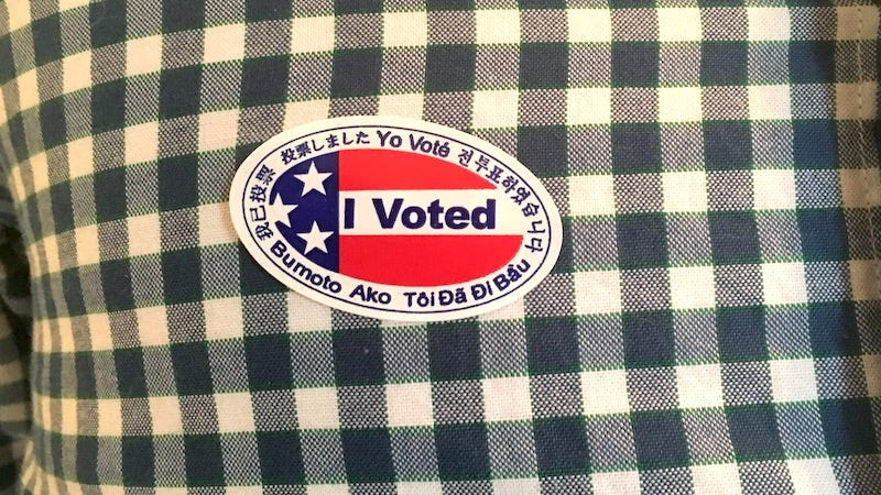 "Illustration for article titled All the Freebies and Discounts You Get Today with an ""I Voted"" Sticker"