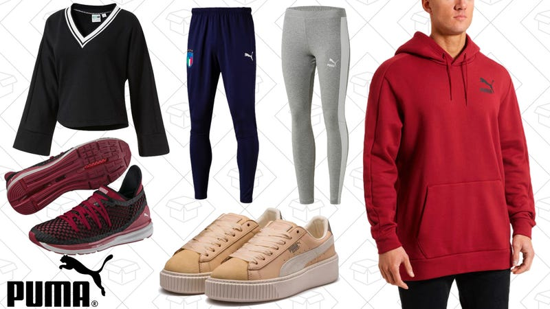 40% off full-price items, 25% off sale items, free shipping | PUMA | Use code HEYFRIEND