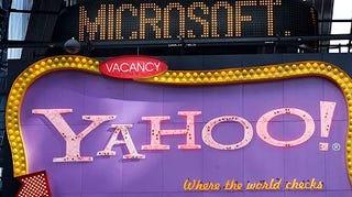 Illustration for article titled Microsoft Retires Yahoo Offer, Won't Try Hostile Takeover