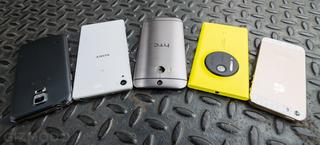 Duelo fotográfico: cinco de los mejores smartphones, frente a frente