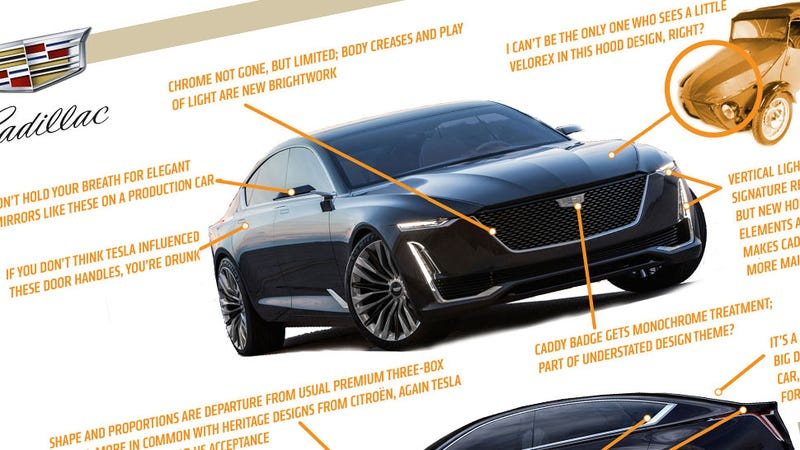 Illustration for article titled Let's Take A Deeper Look At The Design Of The Cadillac Escala