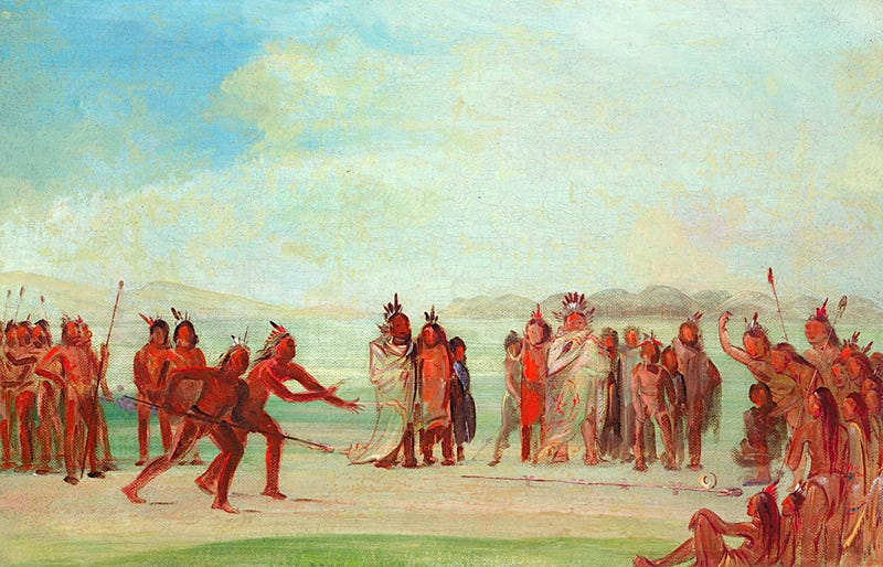 Illustration for article titled The Most Popular Sport in North America 900 Years Ago