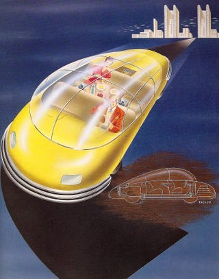 Illustration for article titled Bubble-Top Car (1948)