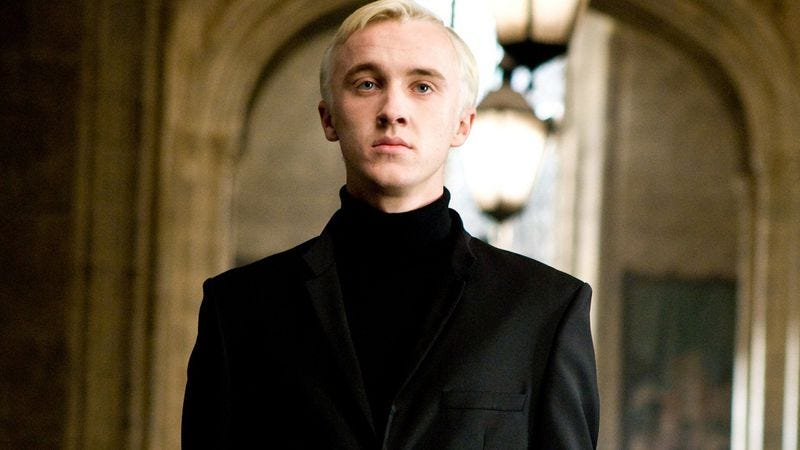 Newswire: J.K. Rowling giving you a Draco Malfoy story for Christmas