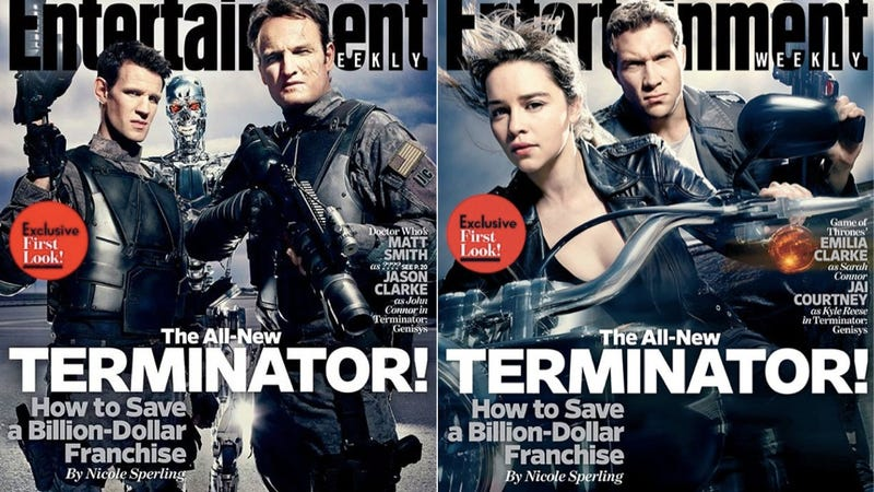 Illustration for article titled Terminator Genisys' Insane Plot Reveal Is A Total Nightmare