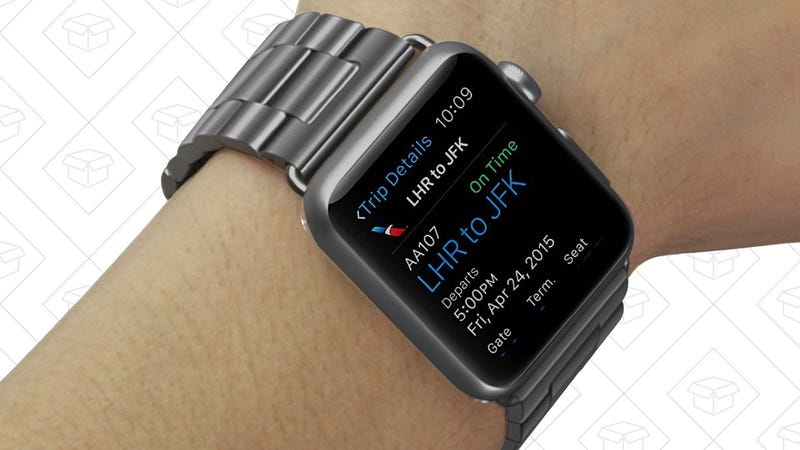 """<a href=""""http://www.amazon.com/dp/B00YMHEE4A""""… Stainless Steel Apple Watch Straps</a> $17 with code E4WCLZYB"""
