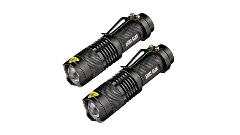 Illustration for article titled Save 80% On A Two-Pack of UltraBright Tactical Flashlights ($13)