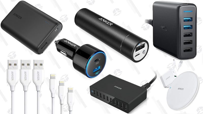 Illustration for article titled Amazon's One-Day Anker Sale Is Full of Great Gift Ideas