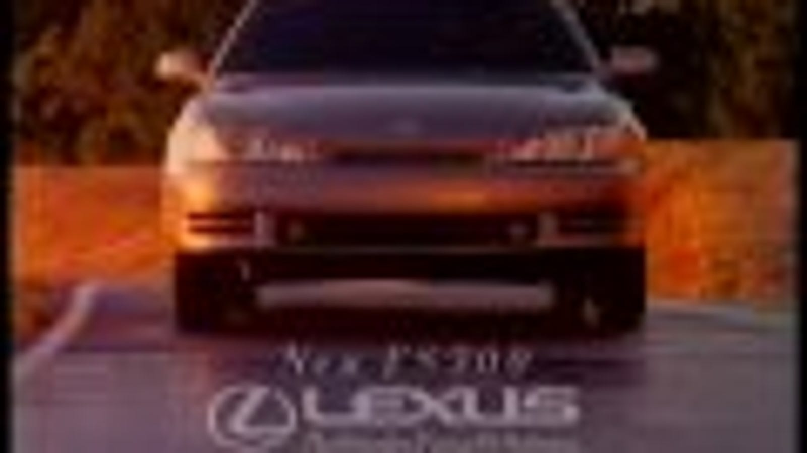 The Old Lexus ES300 Was Obviously A