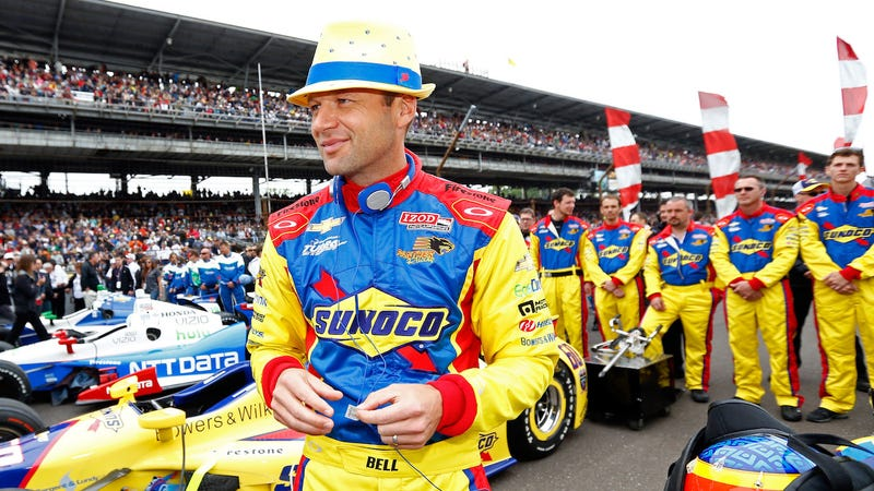 Townsend Bell at the 2013 Indianapolis 500. Photo credit: Michael Hickey/Getty Images