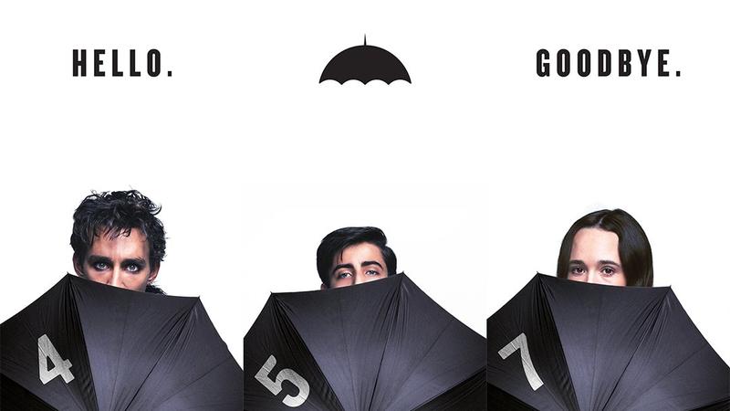 A promo image for Umbrella Academy.