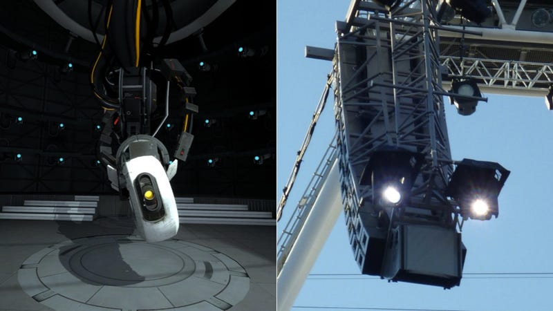 Illustration for article titled Has GLaDOS from Portal Invaded the Olympics?