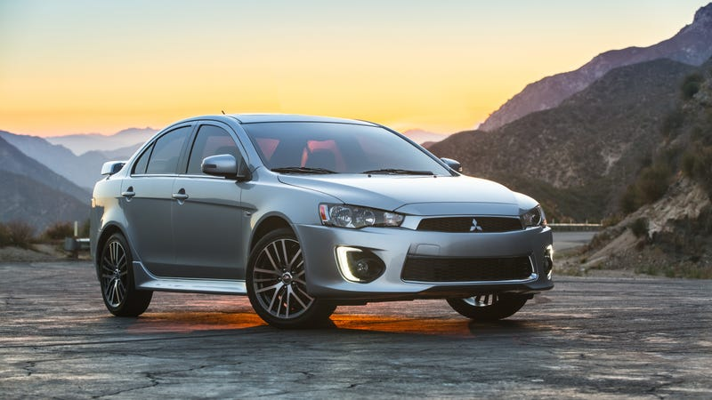 The 2016 Mitsubishi Lancer GT.